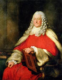 Gainsborough | Portrait of Sir Edward Willes in Judge's Robes | Giclée Canvas Print