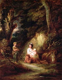 Gainsborough | Gypsy Encampment, c.1788/92 | Giclée Canvas Print