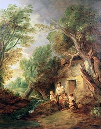 Gainsborough | The Cottage Door, c.1780/88 | Giclée Canvas Print