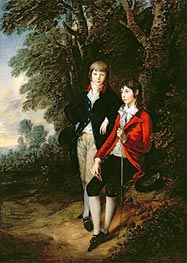 Gainsborough | Edward and Thomas Tomkinson, c.1784 | Giclée Canvas Print