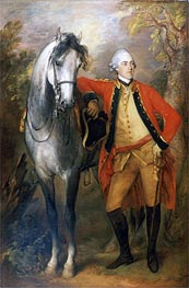 Gainsborough | Edward, Second Viscount Ligonier, 1770 | Giclée Canvas Print