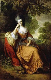 Gainsborough | Lady Anne Hamilton Lady Anne Hamilton, later Duchess of Donegall | Giclée Canvas Print