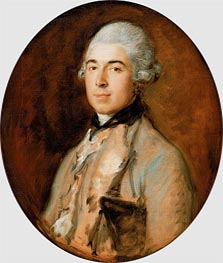 Gainsborough | Captain Thomas Mathews | Giclée Canvas Print