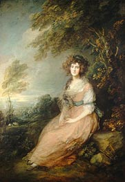 Gainsborough | Mrs. Richard Brinsley Sheridan | Giclée Canvas Print