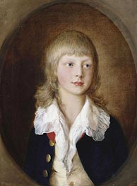 Gainsborough | Prince Adolphus, later Duke of Cambridge, 1782 | Giclée Canvas Print