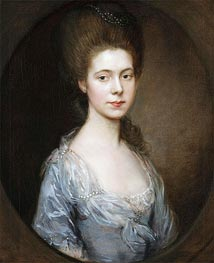 Gainsborough | Mrs. George Oswald | Giclée Canvas Print
