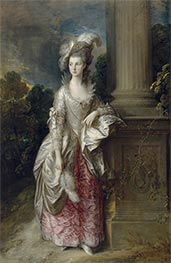 Gainsborough | The Honourable Mrs Graham | Giclée Canvas Print