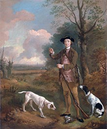 Gainsborough | Major John Dade of Tannington, Suffolk, c.1755 | Giclée Canvas Print