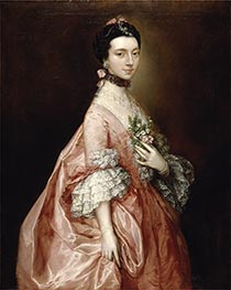 Gainsborough | Mary Little, later Lady Carr | Giclée Canvas Print