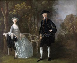 Gainsborough | Lady Lloyd and Her Son, Richard Savage Lloyd of Hintlesham Hall, Suffolk | Giclée Canvas Print