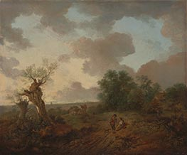 Gainsborough | Suffolk Landscape, c.1755 | Giclée Canvas Print