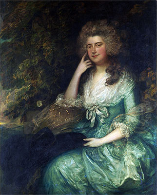 Mrs. William Tennant (Mary Wylde), c.1780/88 | Gainsborough | Painting Reproduction