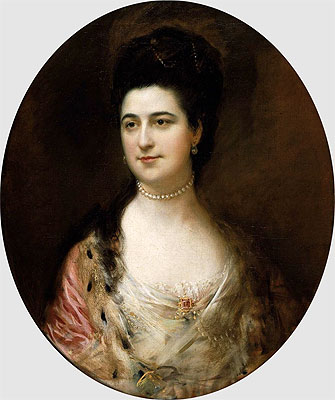 Gainsborough | Mrs. Thomas Mathews, Undated | Giclée Canvas Print