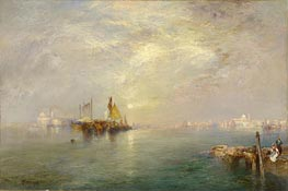 Thomas Moran | Morning, Outskirts of Venice | Giclée Paper Print
