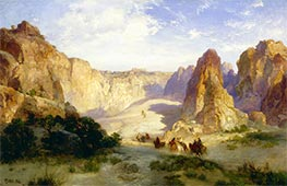 Thomas Moran | The Rocks of Acoma | Giclée Canvas Print