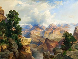 Thomas Moran | The Grand Canyon | Giclée Canvas Print