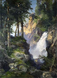 Thomas Moran | Falls at Toltec Gorge, 1913 | Giclée Canvas Print