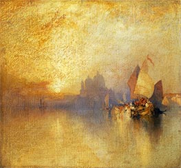Thomas Moran | Opalescent Venice, undated | Giclée Canvas Print