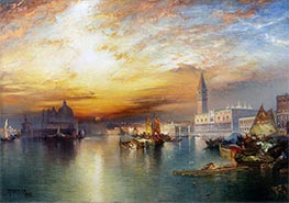 Thomas Moran | Grand Canal, Venice, 1898 | Giclée Canvas Print