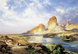 Thomas Moran | Green River, Wyoming, 1907 | Giclée Canvas Print