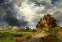 Thomas Moran | East Hampton, 1916 | Giclée Canvas Print