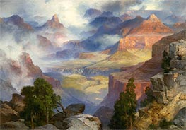 Thomas Moran | Grand Canyon in Mist, 1915 | Giclée Canvas Print
