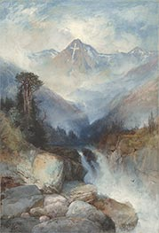 Thomas Moran | Mountain of the Holy Cross, 1890 | Giclée Paper Print