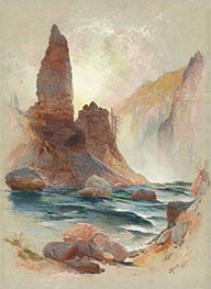 Thomas Moran | Tower at Tower Falls, Yellowstone, 1872 | Giclée Paper Print