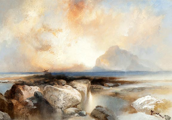 Seascape, 1924 | Thomas Moran | Giclée Canvas Print