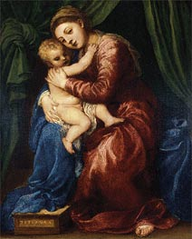 Titian | Madonna and Child | Giclée Canvas Print