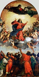 Titian | The Assumption of the Virgin | Giclée Canvas Print
