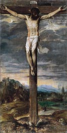 Titian | Christ on the Cross, c.1555 | Giclée Canvas Print