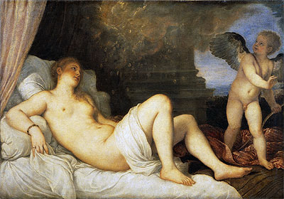 Danae, Undated | Titian | Painting Reproduction