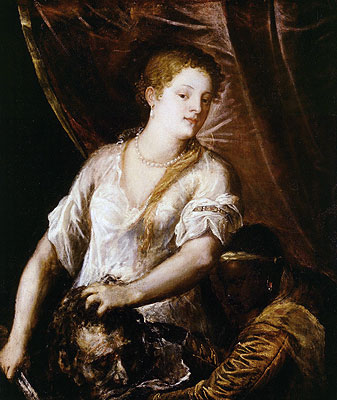 Judith with the Head of Holofernes, c.1570 | Titian | Giclée Canvas Print