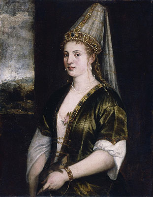 Sultana Rossa, c.1550/60 | Titian | Painting Reproduction