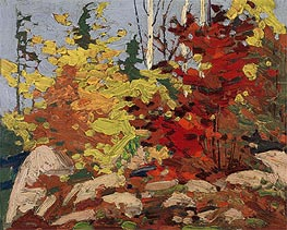 Tom Thomson | Autumn Scene, c.1916 | Giclée Canvas Print