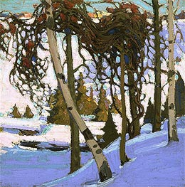 Tom Thomson | Early Snow, 1916 | Giclée Canvas Print