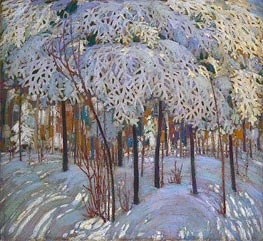 Tom Thomson | Snow in October, c.1916/17 | Giclée Canvas Print