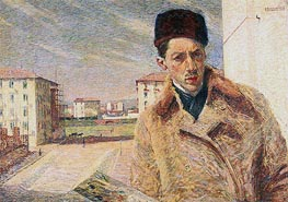 Umberto Boccioni | Self-Portrait | Giclée Canvas Print