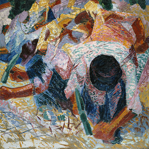 The Street Pavers, 1914 | Umberto Boccioni | Giclée Canvas Print