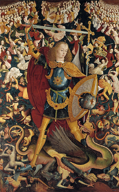 The Archangel Saint Michael, c.1495 | Unknown Master | Painting Reproduction