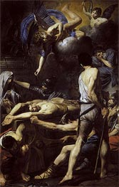 Valentin de Boulogne | Martyrdom of St. Processus and St. Martinian | Giclée Canvas Print