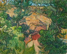 Vincent van Gogh | Entrance to a Quarry | Giclée Canvas Print