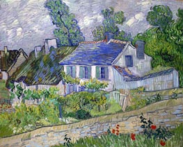 Vincent van Gogh | House in Auvers | Giclée Canvas Print