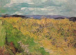 Vincent van Gogh | Wheat Field with Cornflowers | Giclée Canvas Print