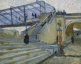 Vincent van Gogh | The Trinquetaille Bridge | Giclée Canvas Print