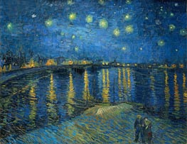 Vincent van Gogh | Starry Night over the Rhone | Giclée Canvas Print
