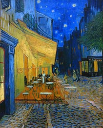 Vincent van Gogh | The Cafe Terrace on the Place du Forum, Arles | Giclée Canvas Print