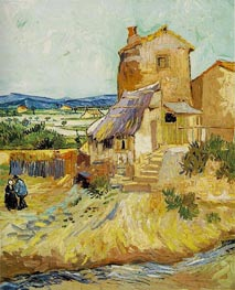 Vincent van Gogh | The Old Mill | Giclée Canvas Print