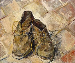 Vincent van Gogh | A Pair of Shoes, 1888 | Giclée Canvas Print